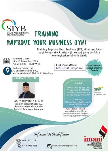 Training Improve Your Business (IYB)